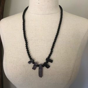 Unique Tourmaline Beaded Necklace
